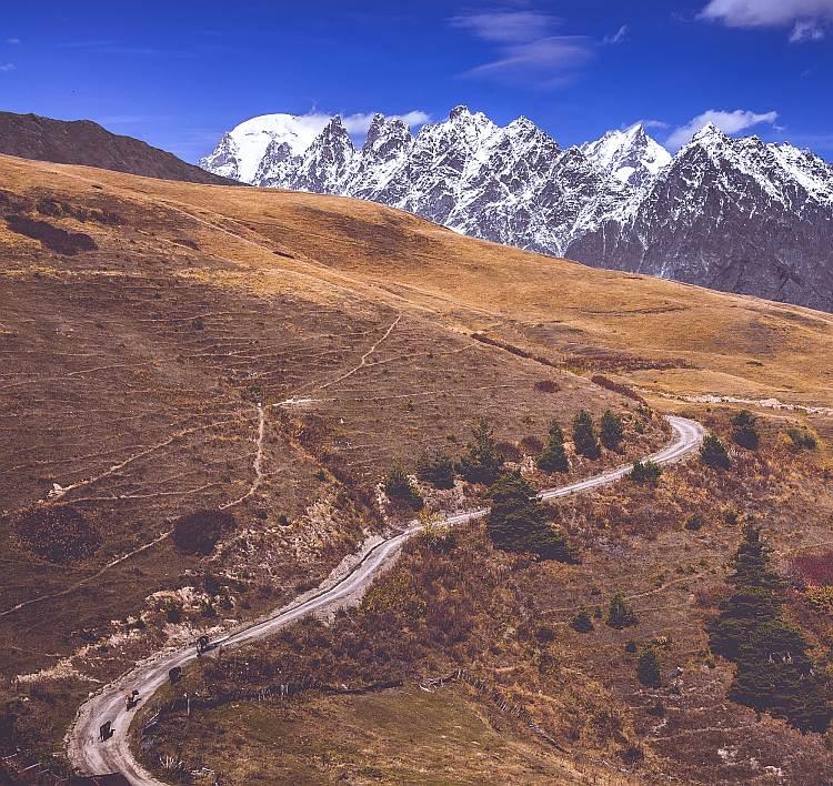 Trekking po Kaukazie