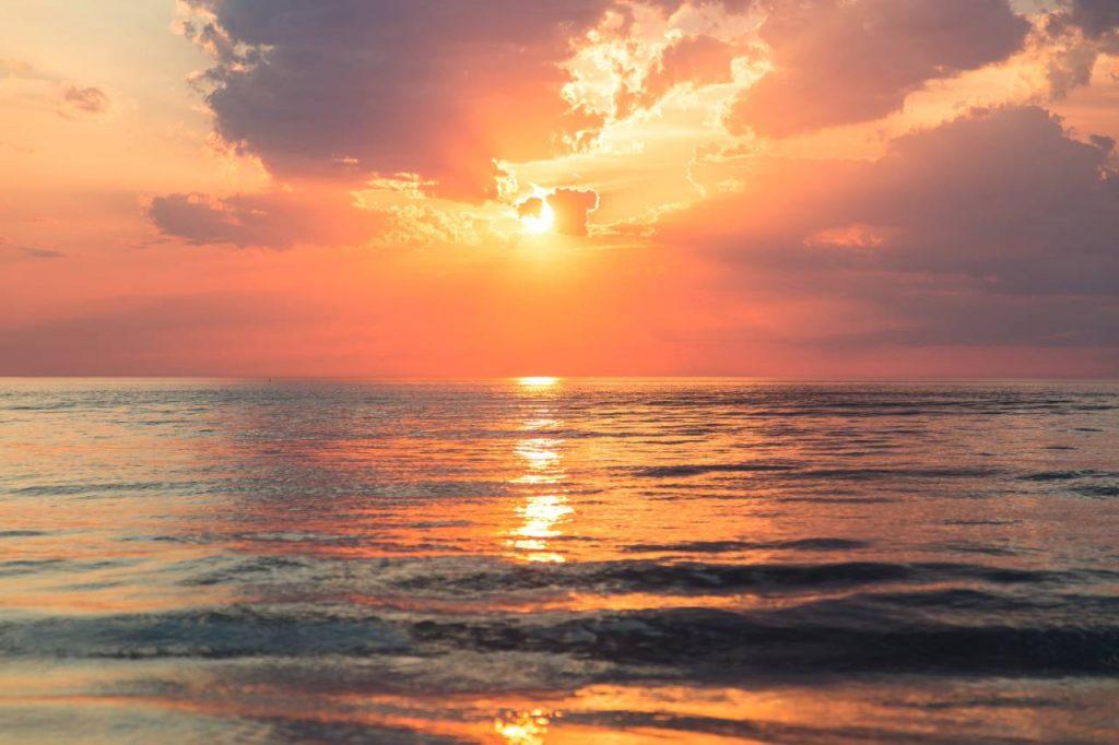 zachód słońca Filipiny