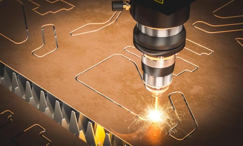 Przy jakiego rodzaju materiałach można wykorzystać cięcie laserowe?